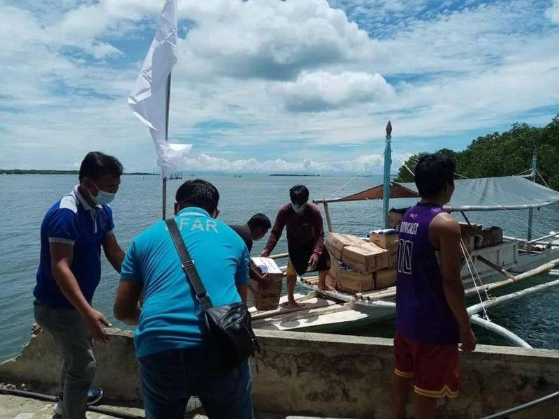 BFAR 7 aids fishing communities in Bohol
