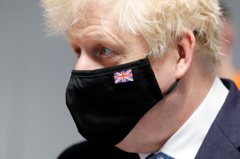 FILE PHOTO: Britain's PM Johnson visits Severn Trent Academy in Coventry