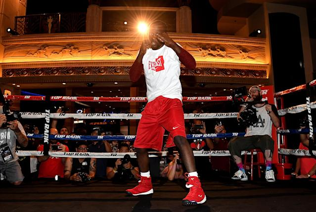 Terence Crawford (32-0, 23 KOs) is widely regarded among the top pound-for-pound fighters in the sport. (Getty Images)
