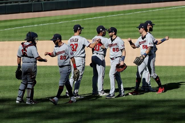 Cruz homers twice and Twins beat White Sox 14-2
