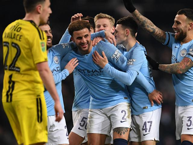"Kyle Walker has joked he is now superior to Cristiano Ronaldo and Lionel Messi after scoring in Manchester City's 9-0 rout over Burton Albion. The England international struck in the Carabao Cup semi-final first leg to open his account for the year. And Walker couldn't help himself after the game, taking to social media and jokingly suggesting he now stands above two of the greatest of all time. Walker said: ""Goals in 2019: Walker: 1 Ronaldo: 0. Goals in Carabao Cup: Walker: 1 Messi: 0. End of discussion?"" Walker has recently found himself out of favour under Pep Guardiola, starting on the bench against Southampton and Liverpool over the festive period. But having started both domestic cup matches against Rotherham and Burton Albion, before being substituted with 16 minutes remaining on Wednesday night, he appears to have earned his manager's trust back. > View this post on Instagram > > Goals in 2019: Walker: 1 Ronaldo: 0 Goals in Carabao Cup: Walker: 1 Messi: 0 End of discussion? > > A post shared by Kyle Walker (@kylewalker2) on Jan 9, 2019 at 2:09pm PST City next face Wolves on Monday night, when they could find themselves seven points behind leaders Liverpool, who play at Brighton on Saturday."