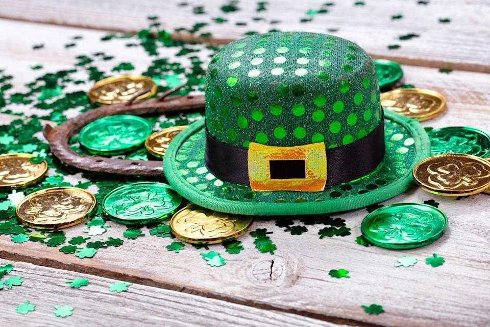 <p>For an extra-fun activity with the whole family, set up a scavenger hunt around the house with clues that lead to some delicious treats (like chocolate coins). Who knows — you might just find a pot of gold at the end of the rainbow! </p>