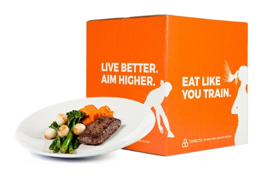 "$108, Trifecta. <a href=""https://www.trifectanutrition.com/meal-plans"" rel=""nofollow noopener"" target=""_blank"" data-ylk=""slk:Get it now!"" class=""link rapid-noclick-resp"">Get it now!</a>"