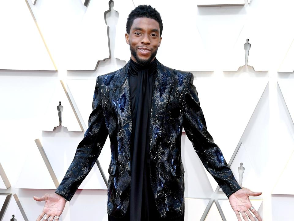 <p>Chadwick Boseman's family speaks out on late actor's Oscar snub</p> (Getty Images)