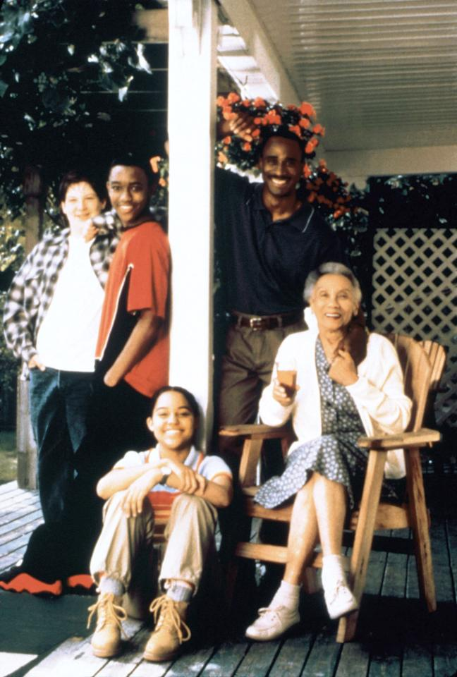 "Ryan Sommers Baum, Lee Thompson Young, Kerry Duff, Gordon Greene, and Montrose Hagins in ""The Famous Jett Jackson"""