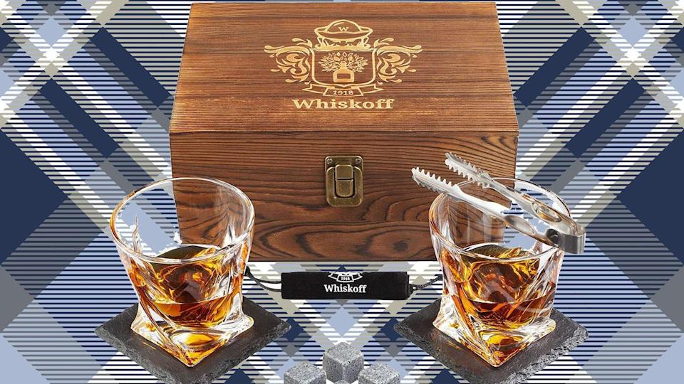 This whiskey kit will make any dad's night cooler.