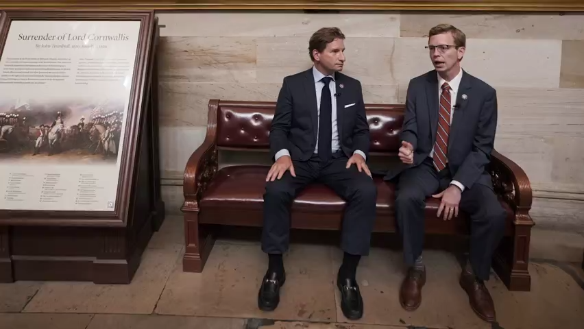 Reps. Dean Phillips (D-MN) and Dusty Johnson (R-S.D) team up amid heighten political polarization to listen and problem solve with their constituents.