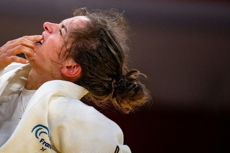 France's Sandrine Martinet recalls the London Paralympics as a gamechanger (AFP/Philip FONG)
