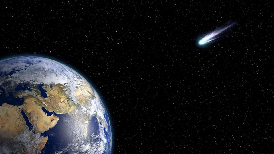 Where did the comet or asteroid come from? (Harvard University)