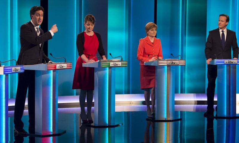 A 2015 general election debate on ITV.