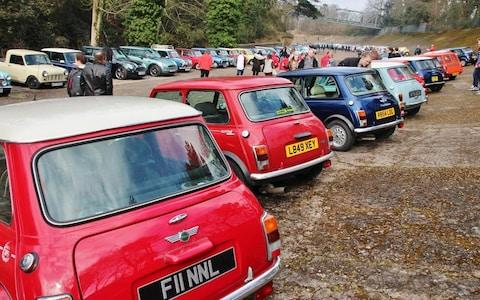 Mini Madness at Brooklands