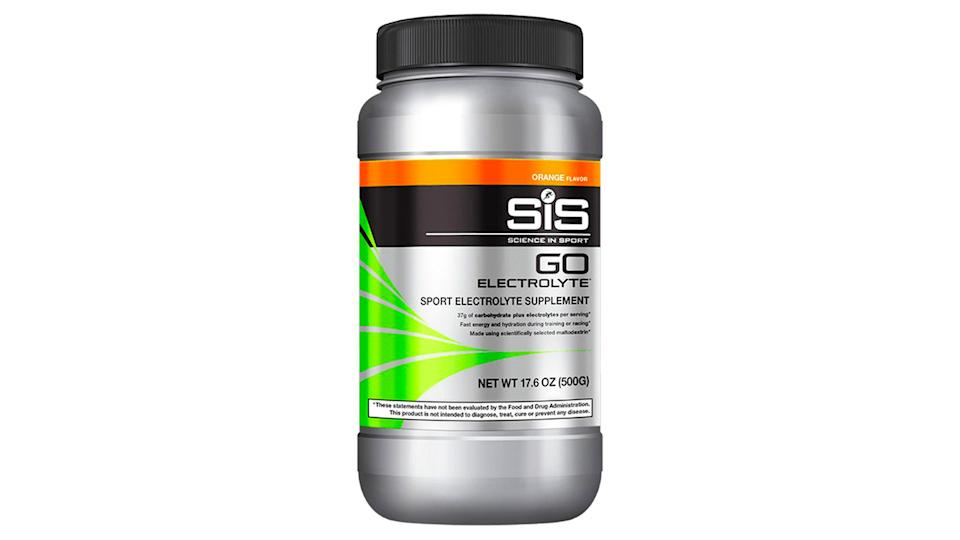 Best cycling nutrition: SIS Go Electrolyte drink