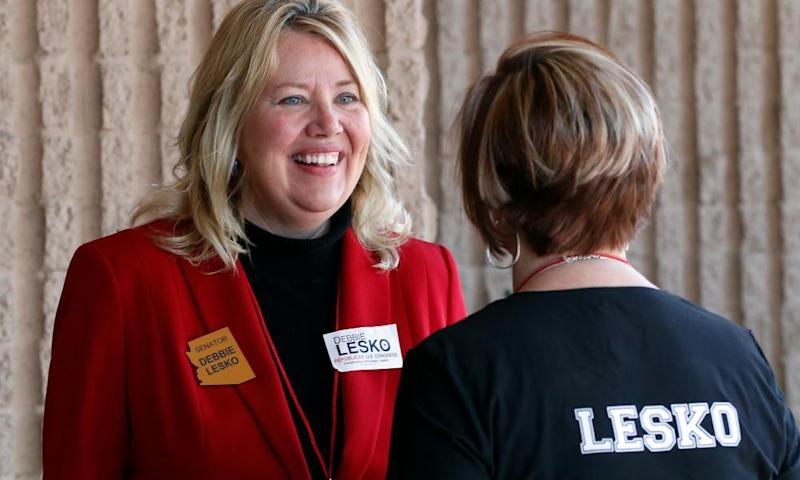 Republican Debbie Lesko, a state senator, is the strong favorite to replace Trent Franks, the GOP congressman who resigned in December amid allegations of sexual misconduct.