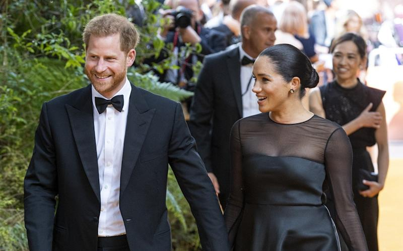 The Duke and Duchess of Sussex visited John's house last week - UK Press