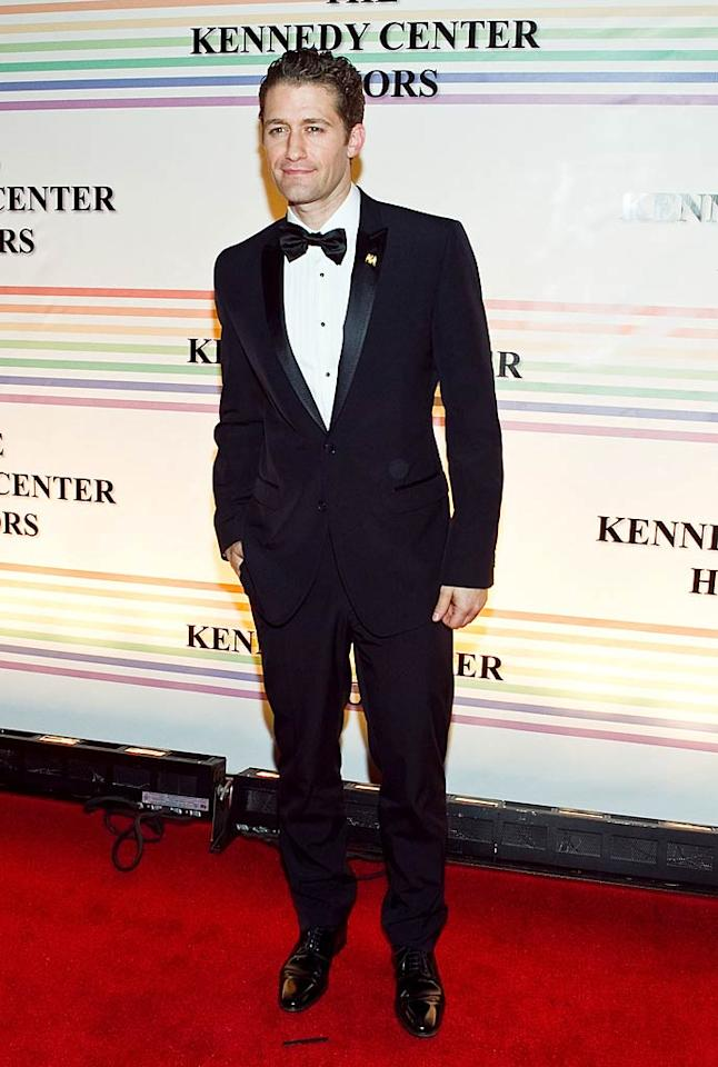 """At the after party, a dapper Matthew Morrison treated guests to impromptu performances of """"The Street Where You Live"""" and the Dean Martin classic """"Sway."""" Paul Morigi/<a href=""""http://www.wireimage.com"""" target=""""new"""">WireImage.com</a> - December 5, 2010"""