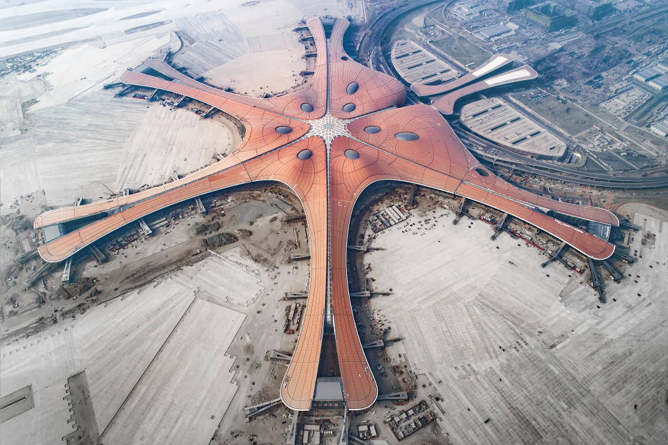 Daxing New International Airport Beijing China