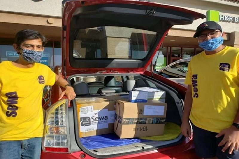 Indian-American NGO Distributes 30,000 Masks, Gloves and 20,000 Ounces of Hand Santisers in Houston