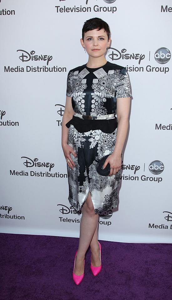 """Ginnifer Goodwin (""""Once Upon a Time"""") attends the Disney Media Networks International Upfronts held at Walt Disney Studios on May 20, 2012 in Burbank, California."""