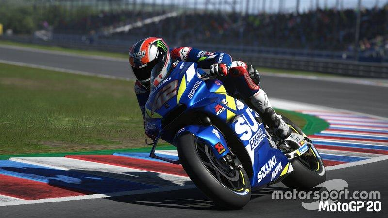 "Captura de pantalla MotoGP20<span class=""copyright"">Milestone UK</span>"