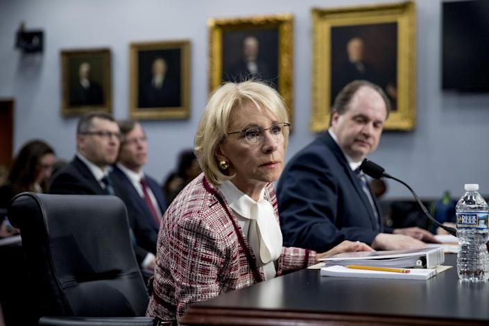 Betsy DeVos donates salary to disability nonprofit — then guts federal funding for Special Olympics