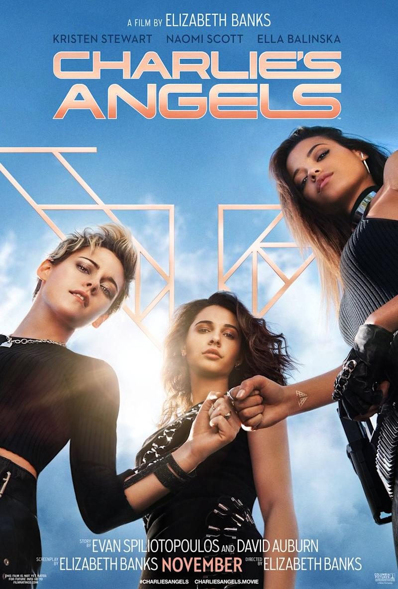 """""""Charlie's Angels"""", il poster del reboot (Sony Pictures)"""