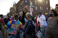 <p>Fans and loved ones danced and rejoiced as DMX's music rang through the area.</p>