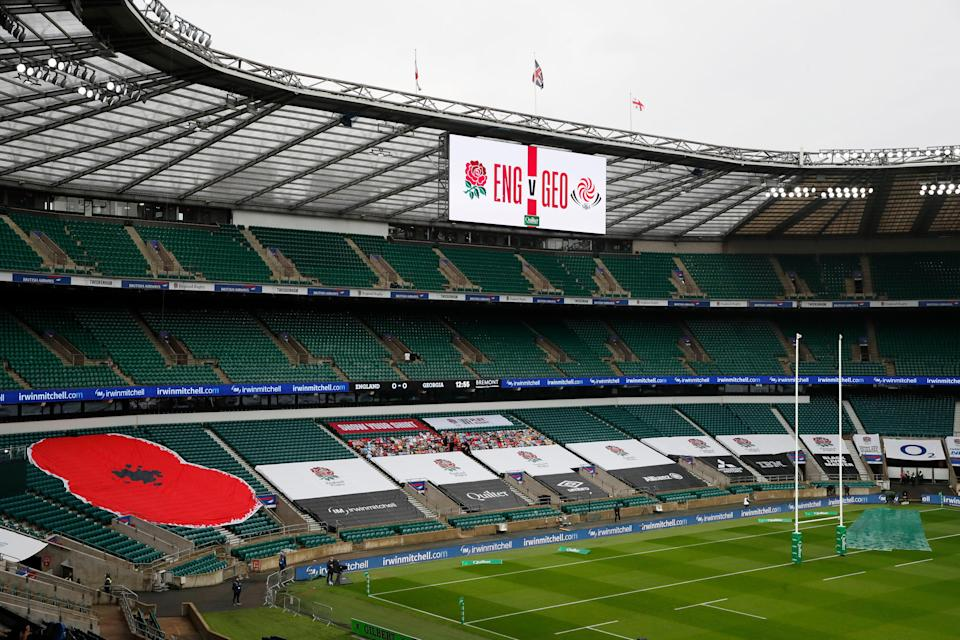 Rugby union received £135m in emergency government funding (Reuters)
