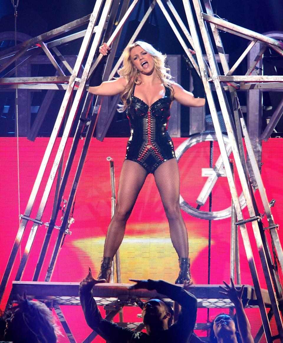 Britney Spears en mars 2011 - Max Morse / GETTY IMAGES NORTH AMERICA / Getty Images via AFP
