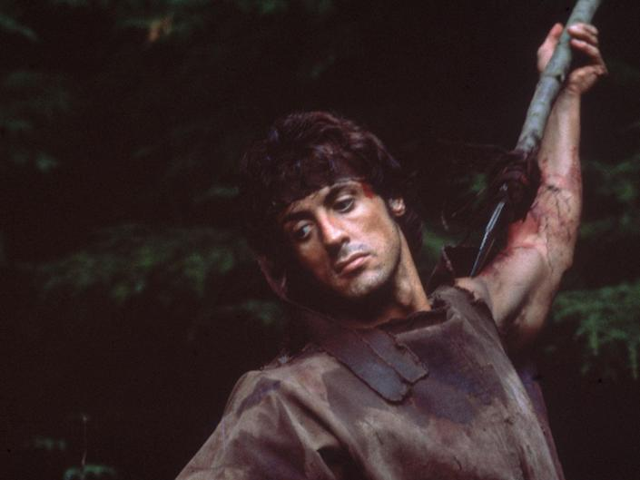 Sylverster Stallone in Rambo (Getty Images)