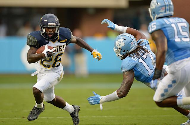 Tarik Cohen received one offer to play college football — from North Carolina A&T. (Getty)