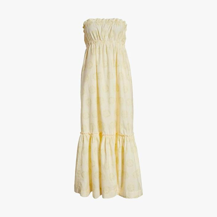 """$108, NORDSTROM. <a href=""""https://www.nordstrom.com/s/free-people-leanna-tube-dress/5957447?origin=category-personalizedsort&breadcrumb=Home%2FWomen%2FClothing%2FDresses%2FVacation&color=224"""" rel=""""nofollow noopener"""" target=""""_blank"""" data-ylk=""""slk:Get it now!"""" class=""""link rapid-noclick-resp"""">Get it now!</a>"""