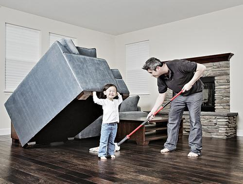"""<div class=""""caption-credit""""> Photo by: Jason Lee / jwlphotography.com</div>Cleaning it up."""
