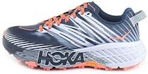 """<p><strong>HOKA ONE ONE</strong></p><p>amazon.com</p><p><strong>$189.00</strong></p><p><a href=""""https://www.amazon.com/dp/B07T5XN5F6?tag=syn-yahoo-20&ascsubtag=%5Bartid%7C2140.g.22853139%5Bsrc%7Cyahoo-us"""" rel=""""nofollow noopener"""" target=""""_blank"""" data-ylk=""""slk:Shop Now"""" class=""""link rapid-noclick-resp"""">Shop Now</a></p><p>Like most Hokas, the fourth edition of the Speedgoat has a super-thick midsole—which, in this case, keeps your feet far off the cold, wet ground. And those extra-deep Vibram lugs on the bottom can handle all kinds of half-frozen hurdles—making this shoe best suited for trails or super-snowy weather conditions. </p>"""