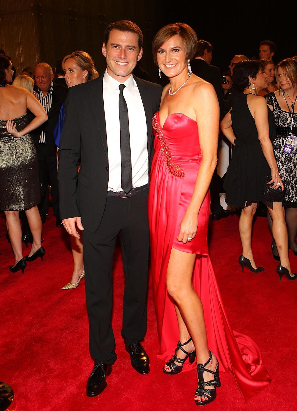 Cass and ex-husband Karl Stefanovic split in 2016. Photo: Getty