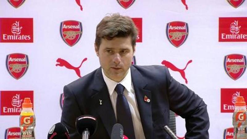 Pochettino takes a jibe at Arsenal after Gunners celebrate victory