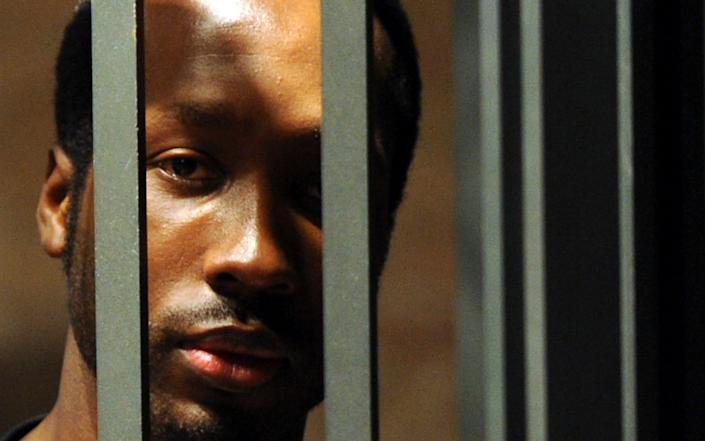 Rudy Guede was jailed for the murder of Meredith Kercher in 2008 - ALESSANDRO BIANCHI /Reuters