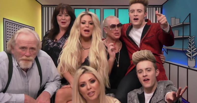 John and Edward's father ordered the family not to tell the housemates about his condition (Copyright: REX/Shutterstock)