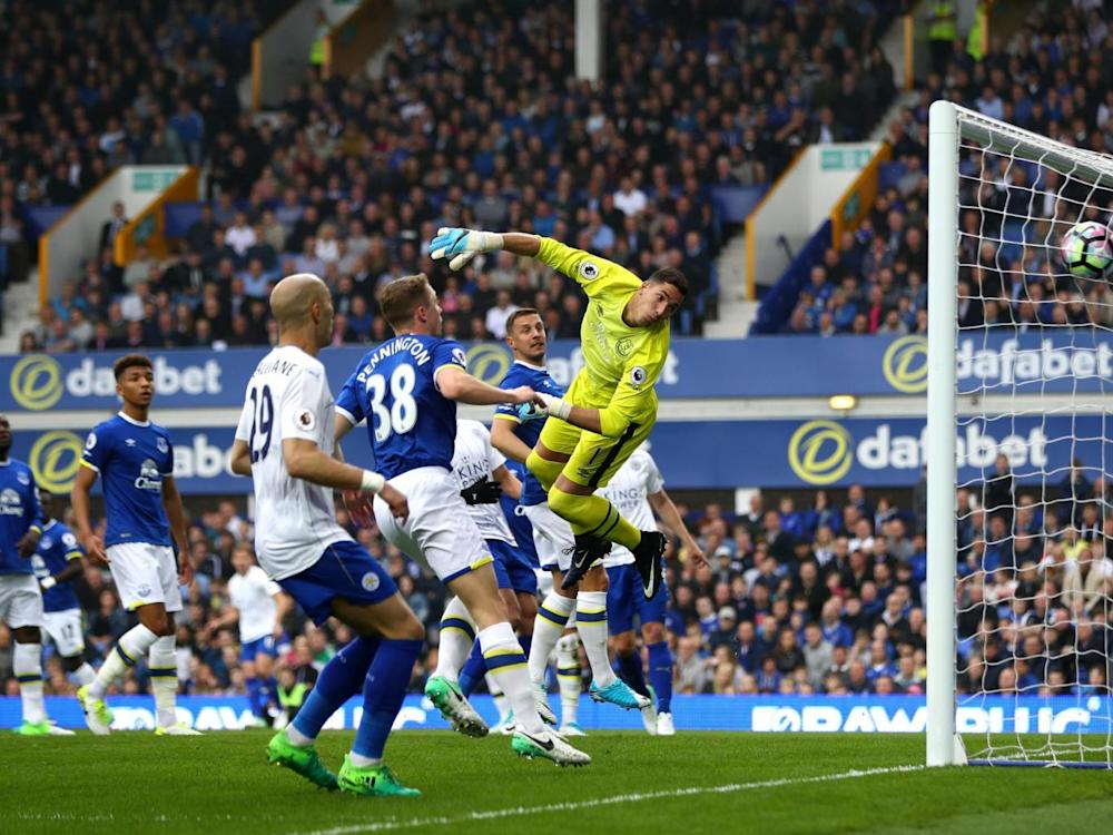 Albrighton curled home a sumptuous second (Getty)