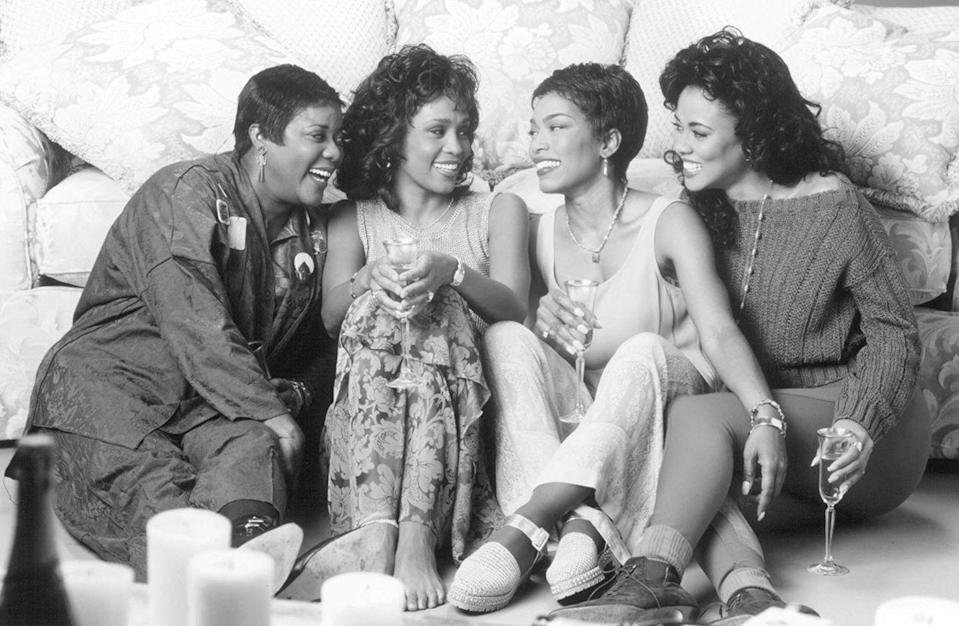 "<p><strong>Cast: </strong>Whitney Houston, Angela Bassett, Loretta Devine, Lela Rochon<br></p><p>This unforgettable tale of friendship and romance follows four best friends as the lean on each other through hard times in their love lives.</p><p><a class=""link rapid-noclick-resp"" href=""https://www.amazon.com/gp/video/detail/B007A0ZAE4/ref=atv_dl_rdr?tag=syn-yahoo-20&ascsubtag=%5Bartid%7C10072.g.28122982%5Bsrc%7Cyahoo-us"" rel=""nofollow noopener"" target=""_blank"" data-ylk=""slk:Watch Now"">Watch Now</a></p>"