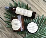 """<p><strong>Aromaology</strong></p><p>etsy.com</p><p><strong>$70.00</strong></p><p><a href=""""https://go.redirectingat.com?id=74968X1596630&url=https%3A%2F%2Fwww.etsy.com%2Flisting%2F801123632%2Fmens-gift-set-mahogany-teakwood-gift-set&sref=https%3A%2F%2Fwww.goodhousekeeping.com%2Fholidays%2Fvalentines-day-ideas%2Fg3077%2Fvalentines-day-gifts-for-him%2F"""" rel=""""nofollow noopener"""" target=""""_blank"""" data-ylk=""""slk:Shop Now"""" class=""""link rapid-noclick-resp"""">Shop Now</a></p><p>If we're being honest, this is just as much a gift for you as it is for him. All products in this set — a soy candle, body butter, and massage oil — will come in handy on your next date night.</p>"""