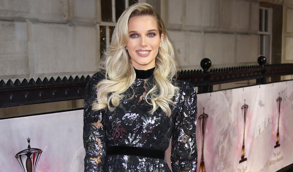 Helen Flanagan has been in hospital with sever morning sickness with her third pregnancy. (Getty Images)