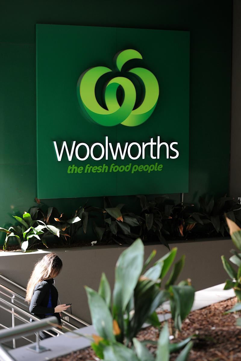The Woolworths delivery driver offered to stay with the Melbourne family as they waited to get back into the house.
