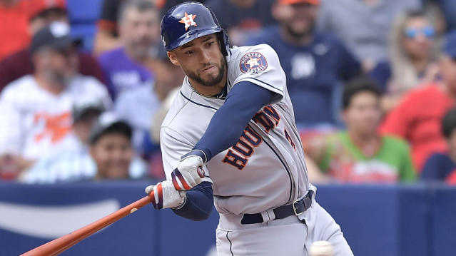 Dave Shovein takes a look at the hamstring injury to George Springer, the Padres record-breaking afternoon and so much more in Sunday's Daily Dose. (Getty Images)