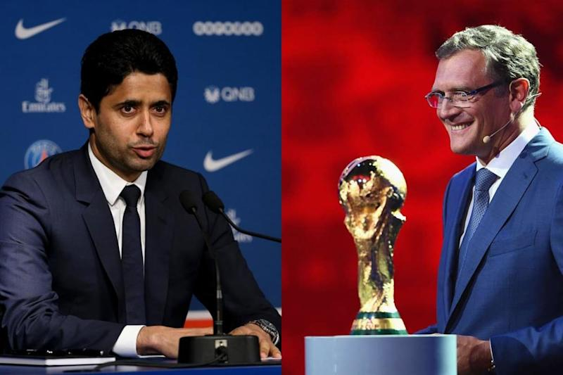 TV Rights Trial of PSG Chief Al-Khelaifi and Ex-FIFA official Valcke opens