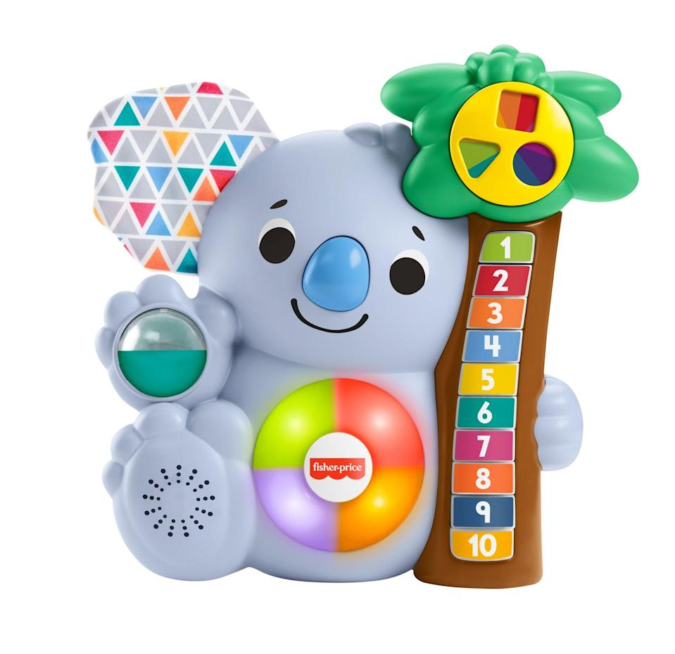 "<p><strong>Fisher-Price</strong></p><p>walmart.com</p><p><strong>$18.73</strong></p><p><a href=""https://go.redirectingat.com?id=74968X1596630&url=https%3A%2F%2Fwww.walmart.com%2Fip%2F707532057&sref=https%3A%2F%2Fwww.redbookmag.com%2Flife%2Ffriends-family%2Fg34828589%2Fholiday-gifts-for-kids-of-every-age%2F"" rel=""nofollow noopener"" target=""_blank"" data-ylk=""slk:Shop Now"" class=""link rapid-noclick-resp"">Shop Now</a></p>"