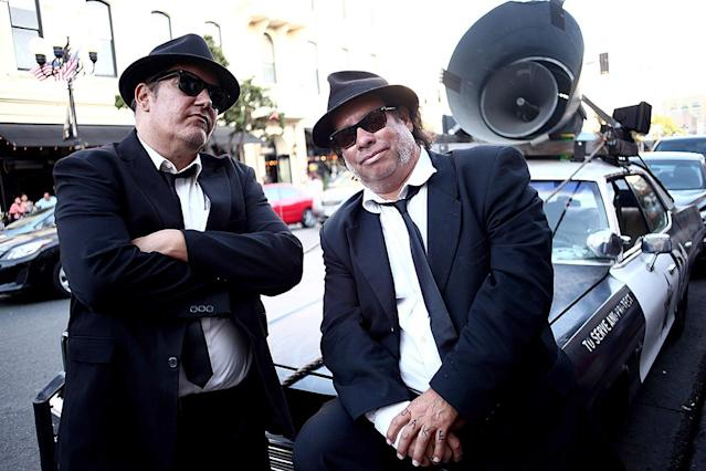 <p>From <em>The Blues Brothers</em> (Photo: Tommaso Boddi/Getty Images) </p>