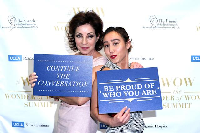 Valorie Kondos Field and Katelyn Ohashi are each doing public speaking engagements. Together they attended the UCLA #WOW The Wonder Of Women Summit in April. (Photo by Tommaso Boddi/Getty Images)