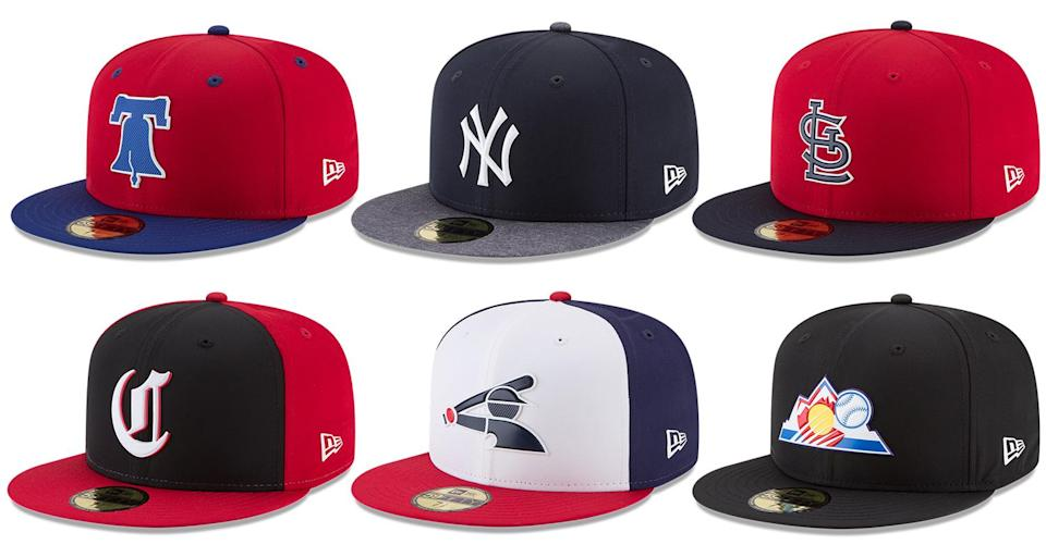 MLB and New Era got together to create some new spring caps. (New Era)