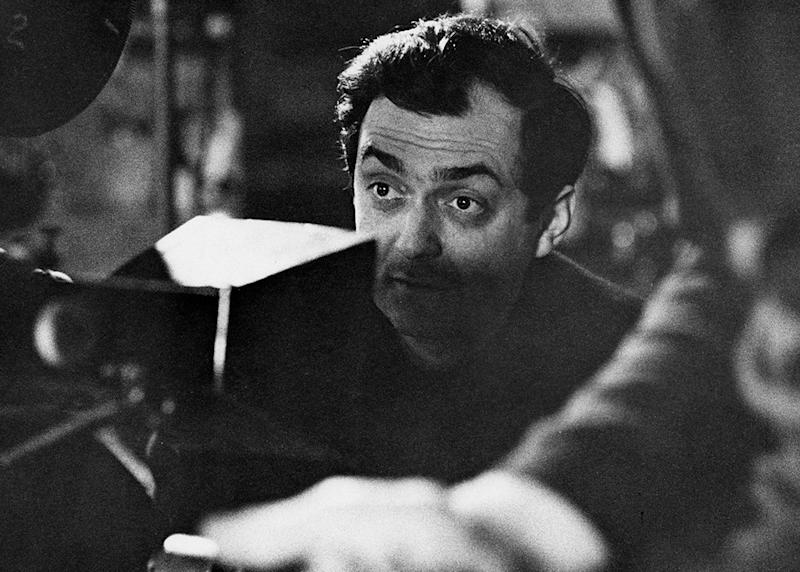 Stanley Kubrick on the set of 'Dr. Strangelove' in 1963. (Photo ...