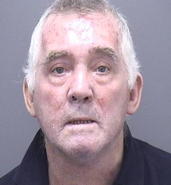 Ian Clowes pleaded guilty to arson reckless as to whether life was endangered following the incident in Poole, Dorset, last October.